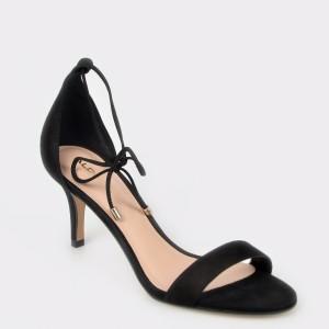 Sandale ALDO negre, Afawiel, din piele ecologica