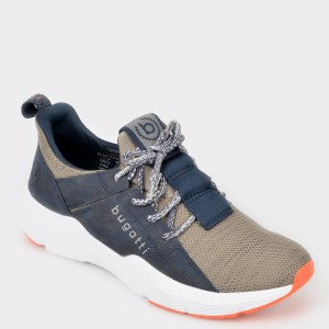 Pantofi sport BUGATTI bleumarin, 73061, din material textil