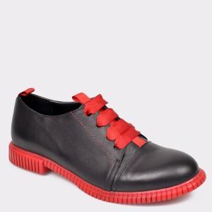 Pantofi FLAVIA PASSINI negri, 361694, din piele naturala