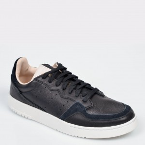 Pantofi sport ADIDAS negri, EF9189, din piele naturala