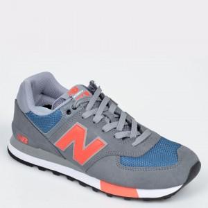 Pantofi Sport New Balance Gri, Ml574, Din Material Textil Si Piele Naturala