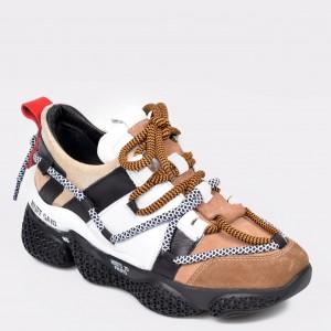 Pantofi sport FLAVIA PASSINI maro, 3077, din piele naturala