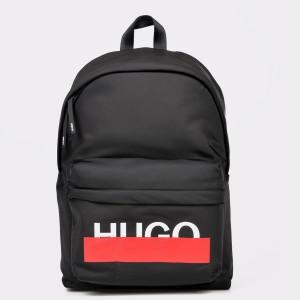 Rucsac HUGO BOSS negru 2702 din material textil