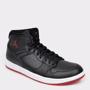 Pantofi sport NIKE negre, AR3762, din piele ecologica