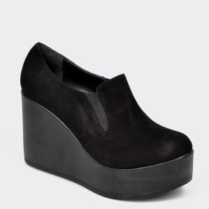 Pantofi FLAVIA PASSINI negri, 6291952, din piele intoarsa