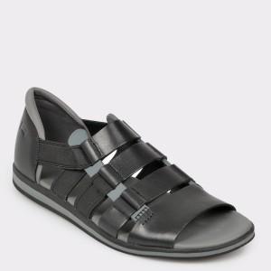 Sandale barbati CAMPER negre K100083 din piele naturala