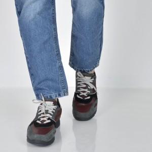 Pantofi GEOX multicolori, U44S7A, din piele intoarsa