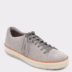 Pantofi sport GEOX gri, U925Qd, din piele intoarsa