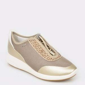 Pantofi sport GEOX bej, D621Ce, din piele ecologica