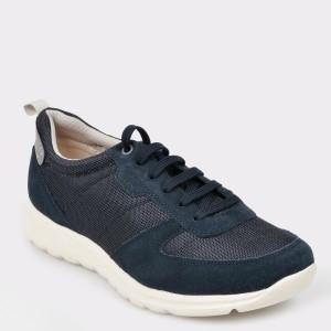 Pantofi sport GEOX bleumarin U920Ha din material textil