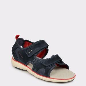 Sandale GEOX bleumarin U926Wb din piele ecologica
