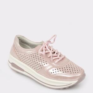Pantofi sport FLAVIA PASSINI roz, 170717, din piele naturala