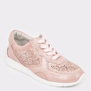 Pantofi sport FLAVIA PASSINI roz, 9W1953, din piele naturala