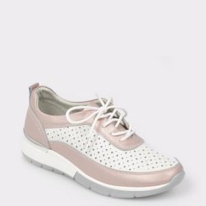Pantofi sport FLAVIA PASSINI alb, 8019, din piele naturala