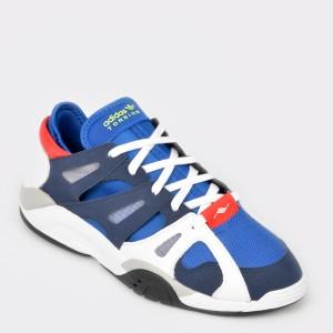 Pantofi sport ADIDAS, albastri, Bd7649, din piele naturala