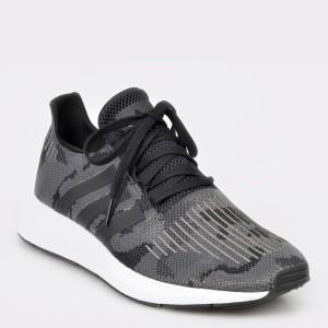 Pantofi sport ADIDAS negri, Bd7977, din material textil