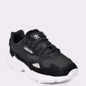 Pantofi sport ADIDAS negri, Falcon, din material textil