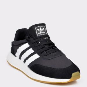 Pantofi sport ADIDAS negri, D97344, din material textil