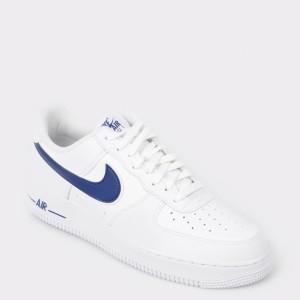 Pantofi sport NIKE albi, Ao2423, din piele ecologica