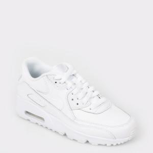 Pantofi sport NIKE albi 833412 din piele ecologica