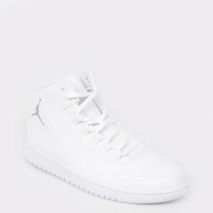 Pantofi sport NIKE albi, 820240, din piele ecologica