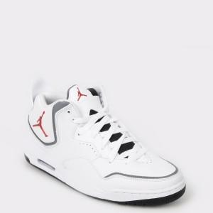 Pantofi sport NIKE albi Cd1522 din piele ecologica