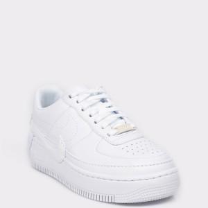 Pantofi sport NIKE albi, AO1220, din piele ecologica