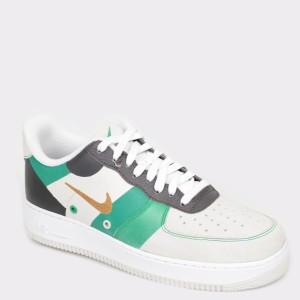 Pantofi sport NIKE albi Ci0065 din piele ecologica