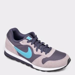 Pantofi sport NIKE mov CI2232 din material textil si piele naturala