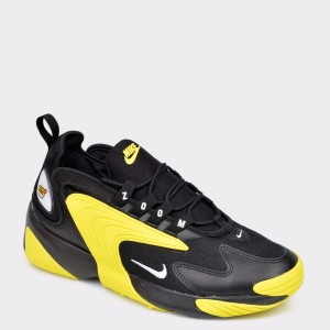 Pantofi sport NIKE negri AO0269 din material textil si piele naturala