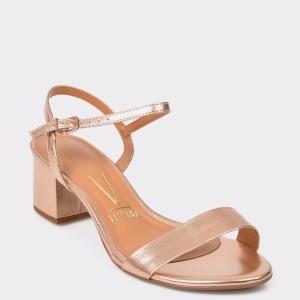 Sandale VIZZANO aurii, 6291100, din piele ecologica