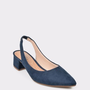 Pantofi bleumarin 4182105 din piele ecologica