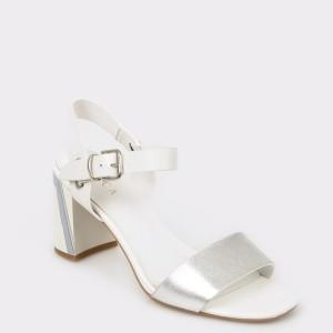 Sandale FLAVIA PASSINI albe Xl613 din piele naturala