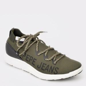 Pantofi Sport Pepe Jeans Kaki, Ms30521, Din Material Textil
