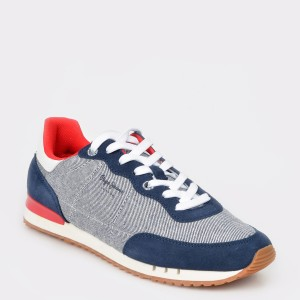 Pantofi sport PEPE JEANS bleumarin, Ms30504, din material textil