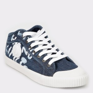Pantofi sport PEPE JEANS albastrii, Ms30548, din material textil