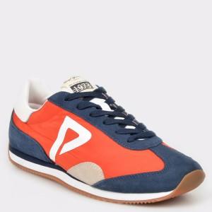 Pantofi sport PEPE JEANS portocalii, Ms30513, din material textil