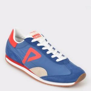 Pantofi sport PEPE JEANS albastri, Ms30513, din material textil