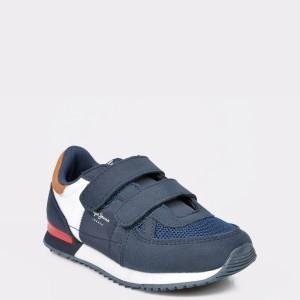 Pantofi sport PEPE JEANS bleumarin, BS30421, din material textil