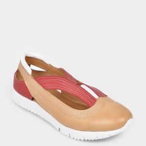 Pantofi FLAVIA PASSINI maro, 19Y2302, din piele naturala