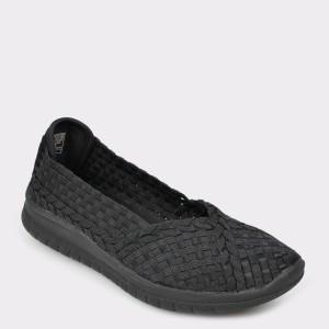 Espadrile SKECHERS negre, 31860, din material textil