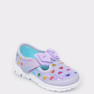 Pantofi pentru copii SKECHERS mov, 81162N, din material textil