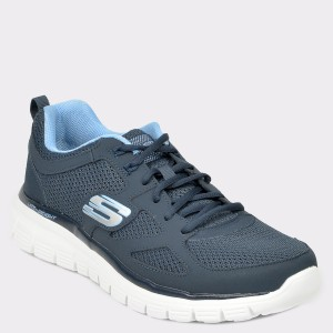 Pantofi sport SKECHERS bleumarin, 52635, din material textil
