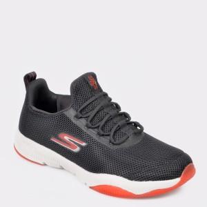 Pantofi sport SKECHERS negri, 55192, din material textil