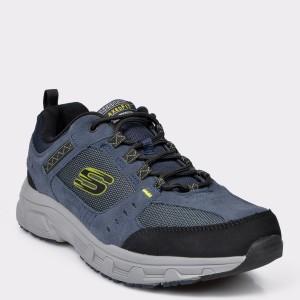 Pantofi Sport Skechers Bleumarin, 51893, Din Material Textil