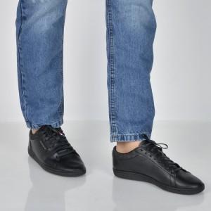 Pantofi LE COQ SPORTIF negri, 1820351, din piele ecologica