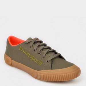 Pantofi sport LE COQ SPORTIF kaki, 1910536, din material textil