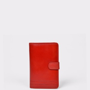 Portofel EPICA rosu, 9870, din piele naturala