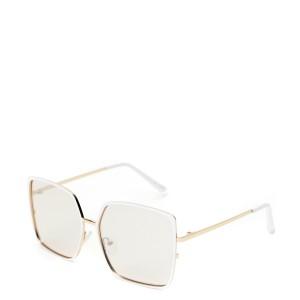 Ochelari de soare ALDO albi, Welterlaan100, din PVC
