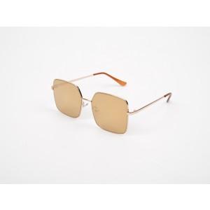 Ochelari de soare aurii, ALDO, Crunia, din PVC